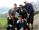 Teen Challenge Alberta - Students Hike Through the Mountains