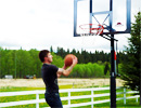 Teen Challenge Alberta - Student Playing Basketball