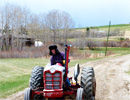 Teen Challenge Alberta - Students Operate the Tractor During Work Detail