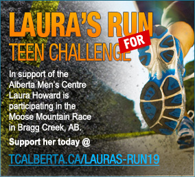 Teen Challenge Alberta Men's Centre - Laura's Run